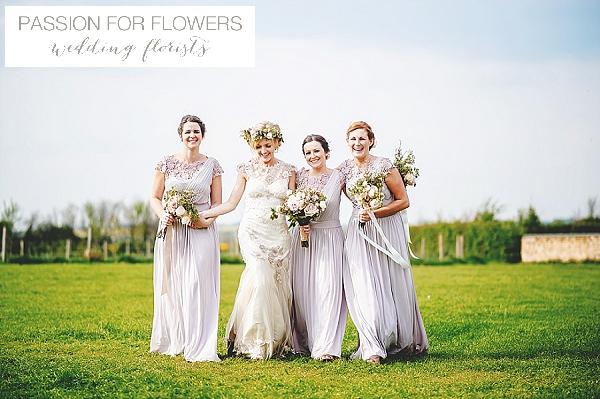 South farm bridesmiads bouquets wedding flowers