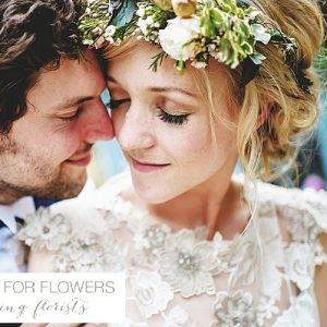 South farm ruustic wedding flower crown
