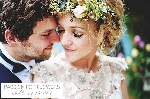 South farm ruustic wedding flower crown