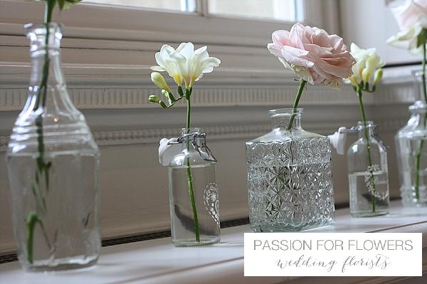 Compton Verney Wedding Windowsill  Flowers