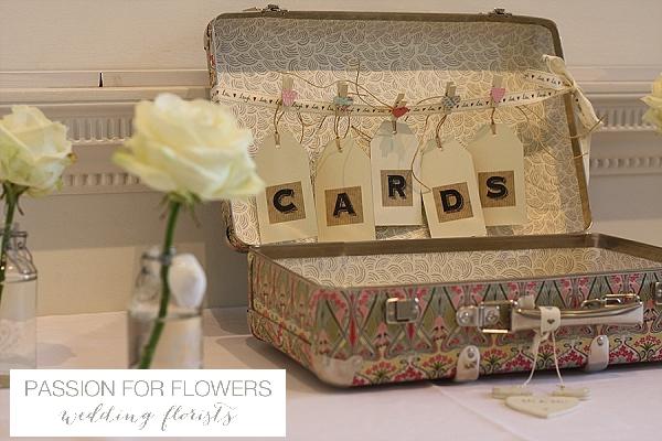 Compton Verney Wedding Cards Suitcase
