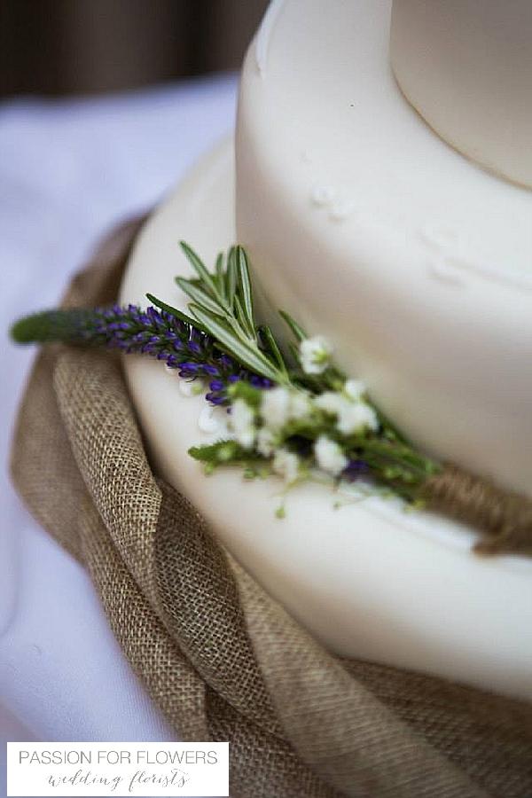 Cripps Barn Wedding Cake Flowers