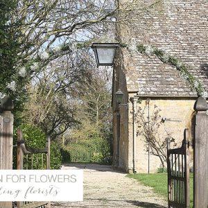 Dumbleton Hall Church Wedding Floral Arch