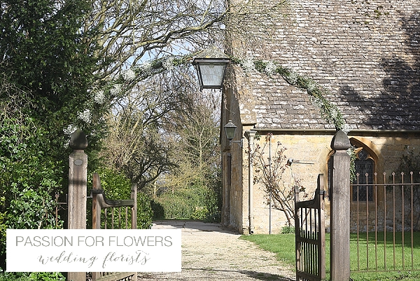 Dumbleton Hall Church Wedding Floral Arch