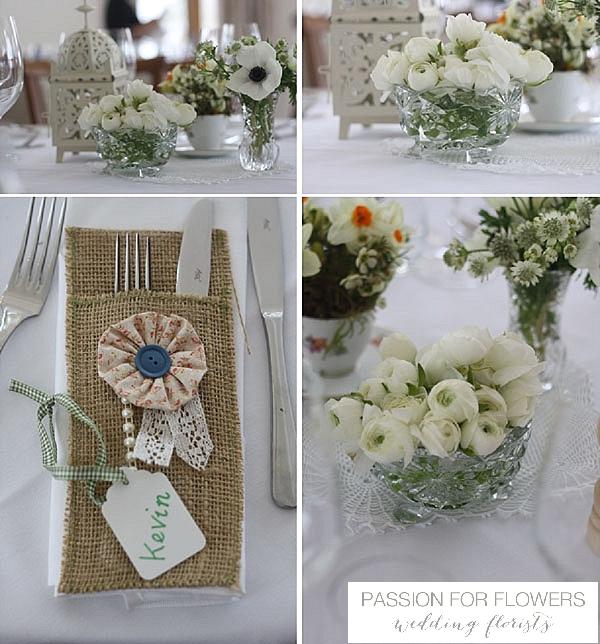 Wedding Flowers Warwickshire: Mythe Barn Wedding Flowers