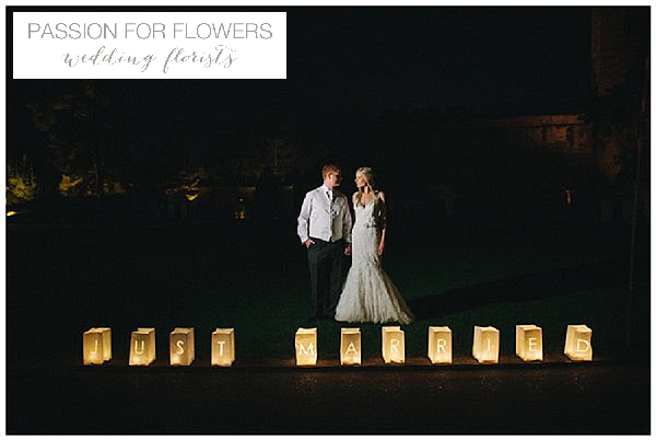 just married lanterns