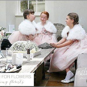 barnsley house flower girls pommanders wedding flowers