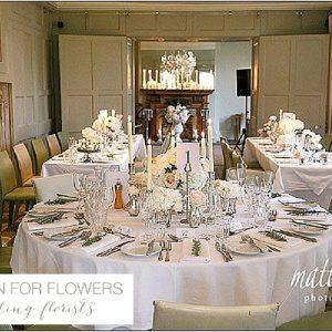 barnsley house centrepiece wedding flowers