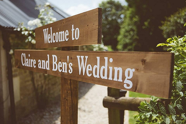 cripps barn rustic wedding signs wooden arrows