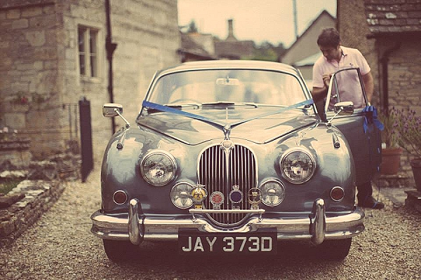 cripps barn wedding car