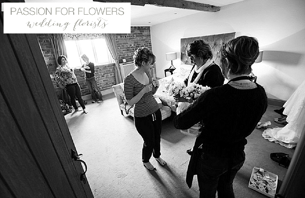passion for flowers delivering flowers to curradine barn
