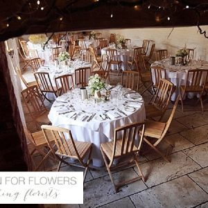 curradine barns wedding tables