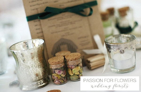 curradine barns wedding table details