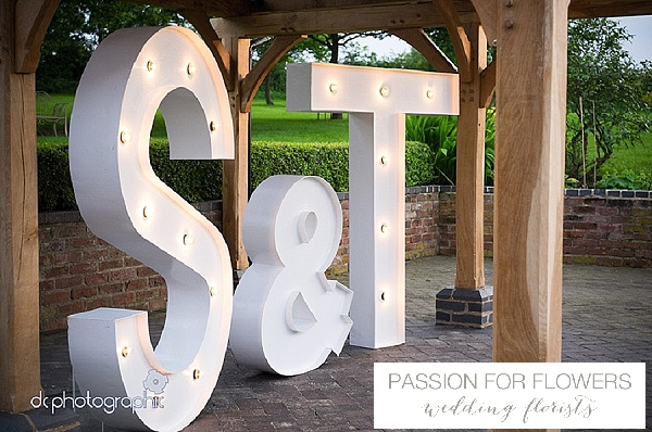 light up letters giant outdoor ceremony wethele manor (1)