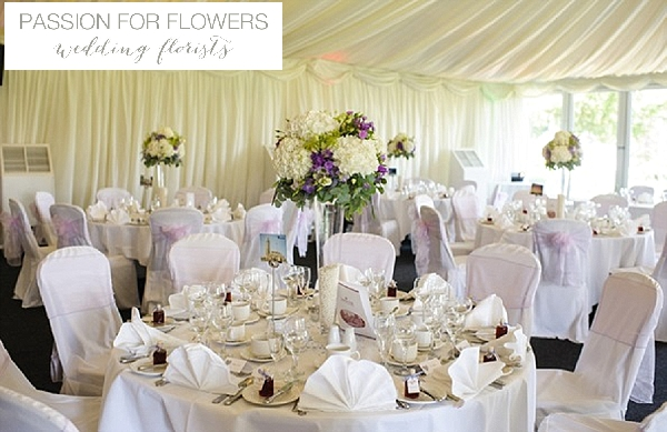 nailcote hall wedding flowers centrepieces