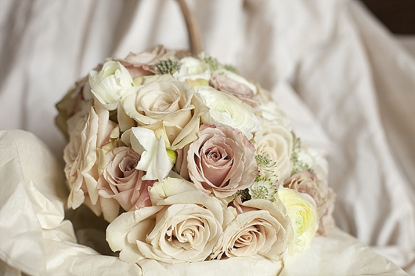 nude rosess bridal bouquets passion for flowers