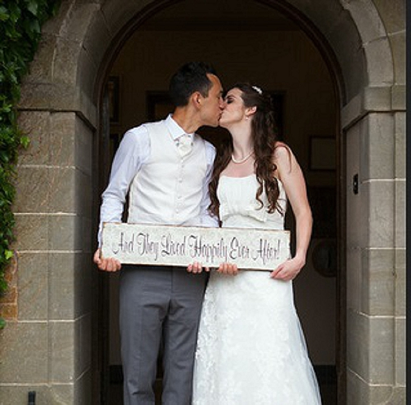 and they lived happily ever after wedding signs mallory court wedding