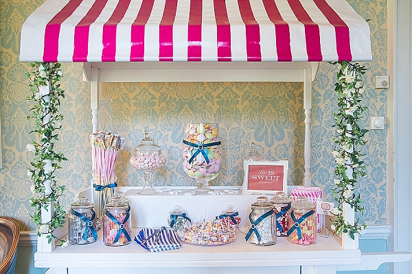 sweetie cart wedding