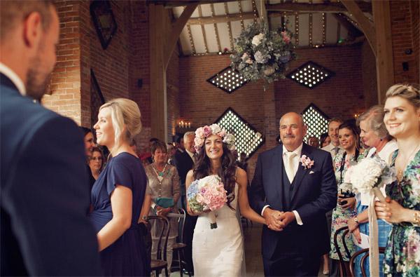 bride flower corwn blue pink green summer bouquet shustoke farm barns summer wedding florist passion for flowers