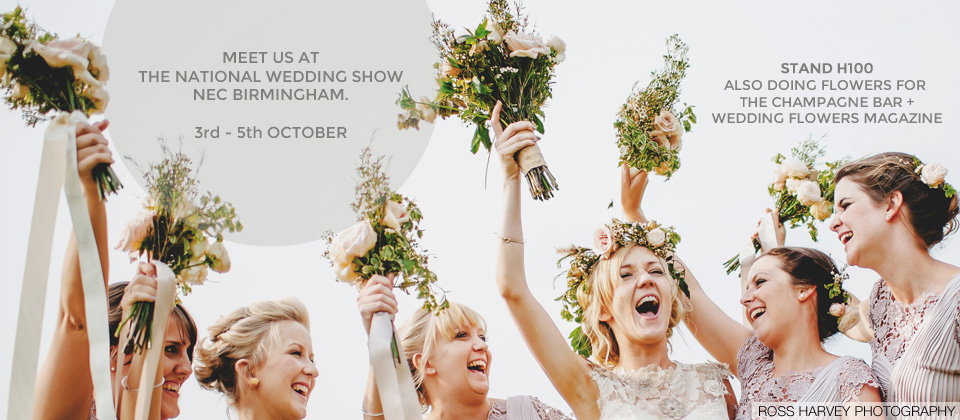 meet passion for flowers at the national wedding show birmingham