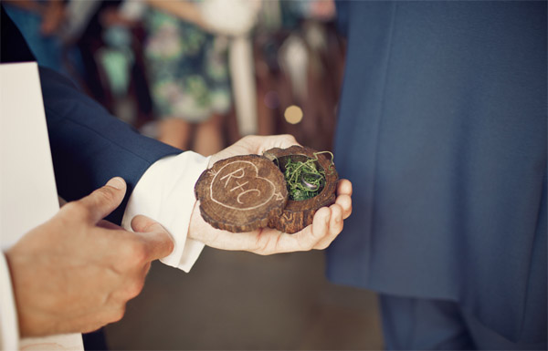 personalised wedding ring box shustoke farm barns summer wedding florist passion for flowers