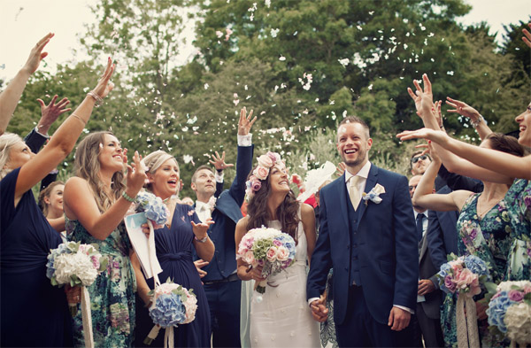 petal confetti shustoke farm barns summer wedding florist passion for flowers