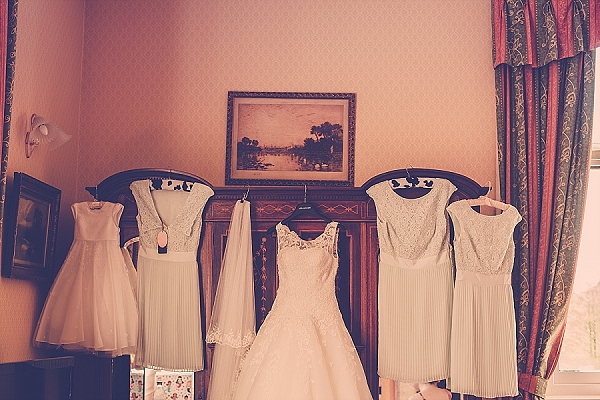 wroxall abbey wedding vintage glamour