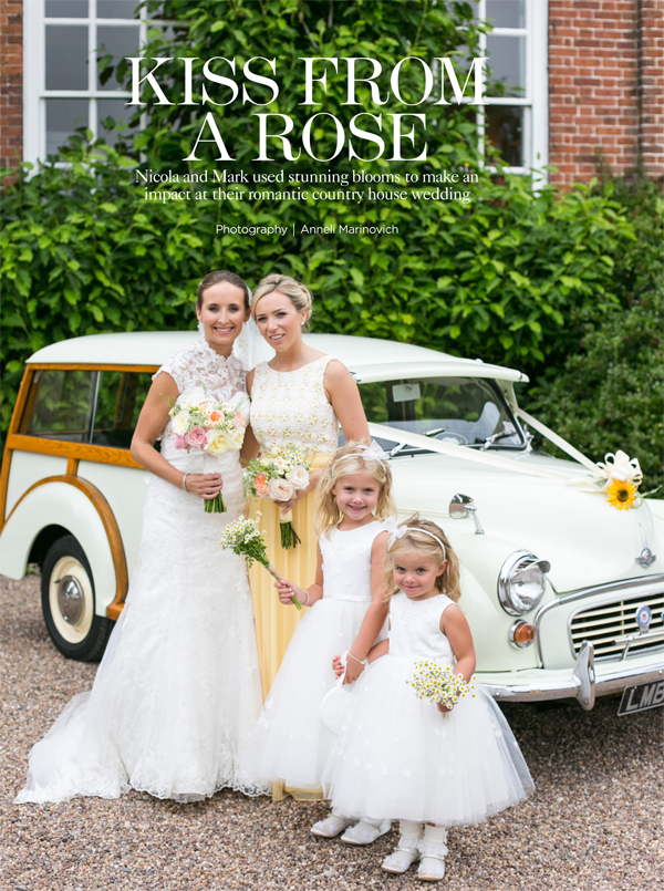 you and your wedding magazine summer yellow daisy wedding 2