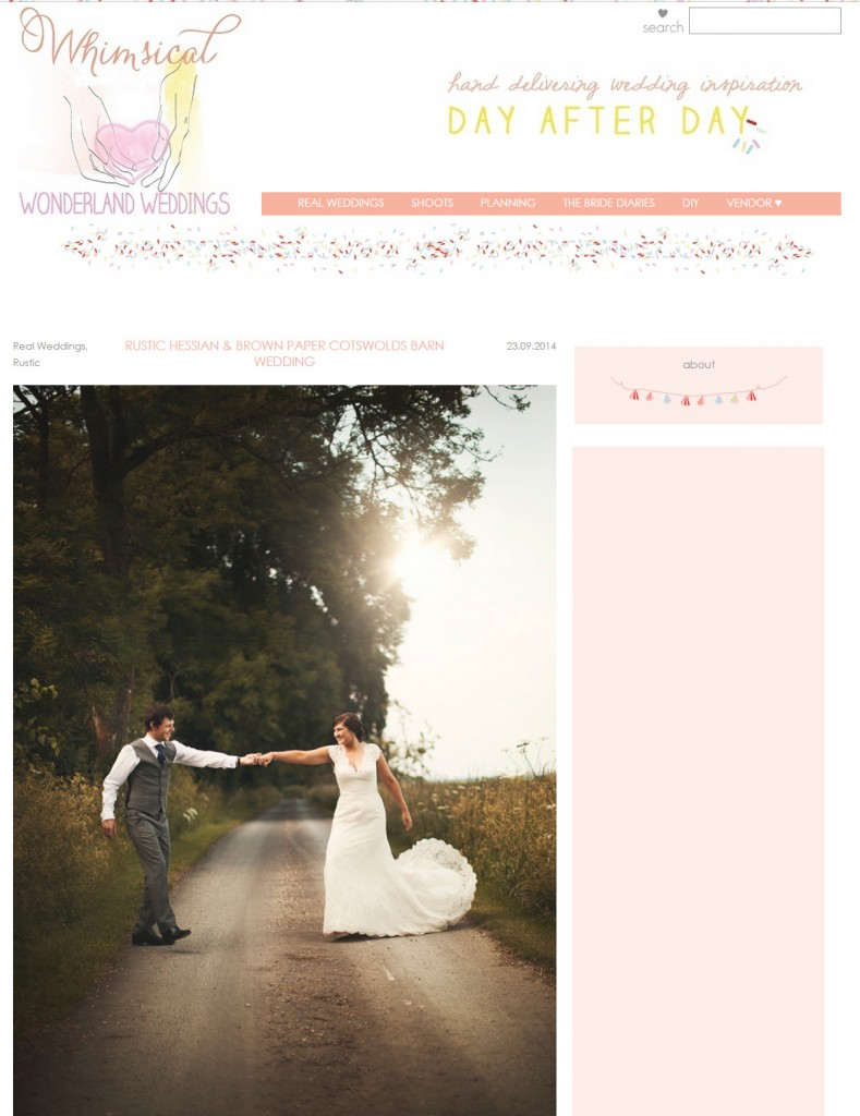 Passion For Flowers florist featured Whimsical Wonderland Weddings Blog
