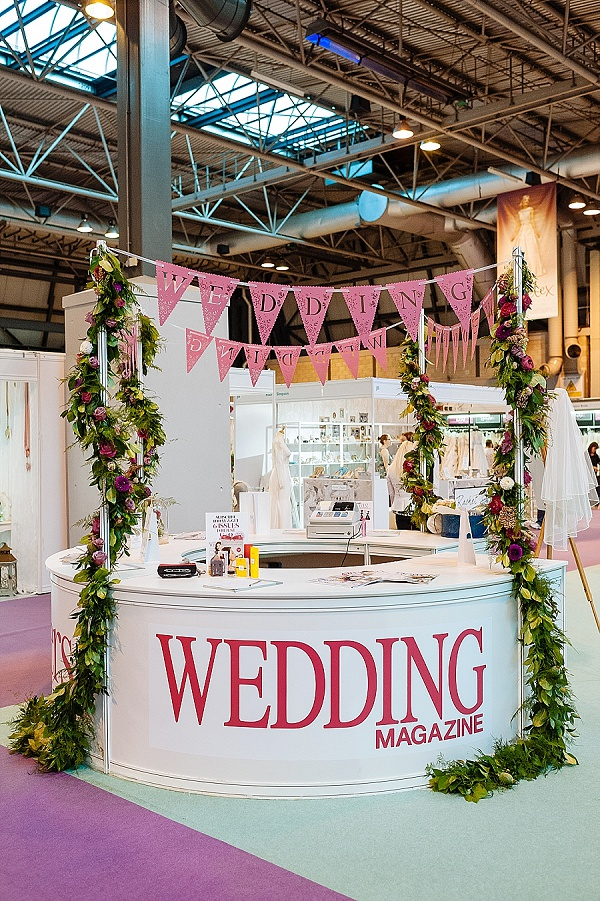 wedding magazine stand wedding-florists-warwickshire-birmingham-cotswolds-the-national-wedding-show-2014-