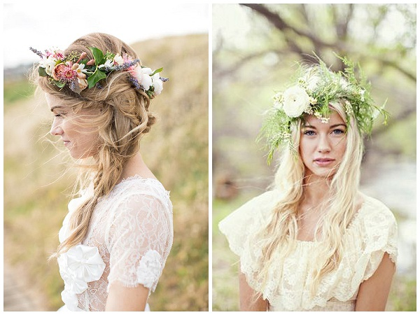 flower crowns weddings