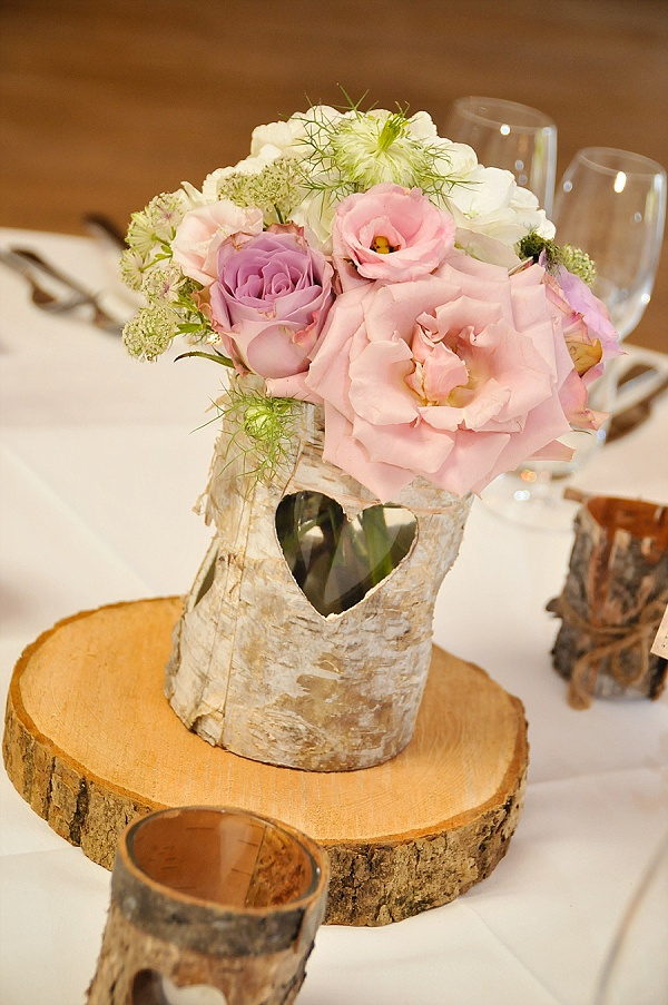 Packington Moor Wedding Flowers Country Jugs Tree
