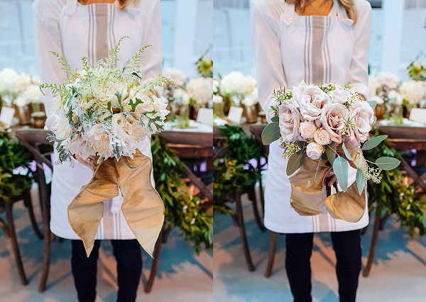 wedding-bouquets-nude-roses-blus-pink-roses-gold-ribbon