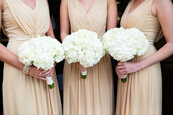 White wedding flowers passion for flowers white bridesmaids bouquets white hydrangeas mightylinksfo