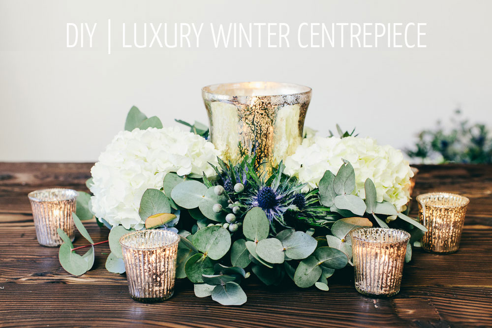 step by step guide how to make wedding centrepiece - rustic glamour (2)