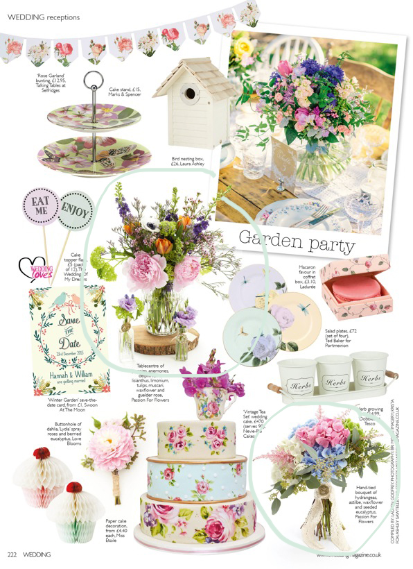 Passion for Flowers feature in Wedding Flowers Magazine Feb 2015 (2)
