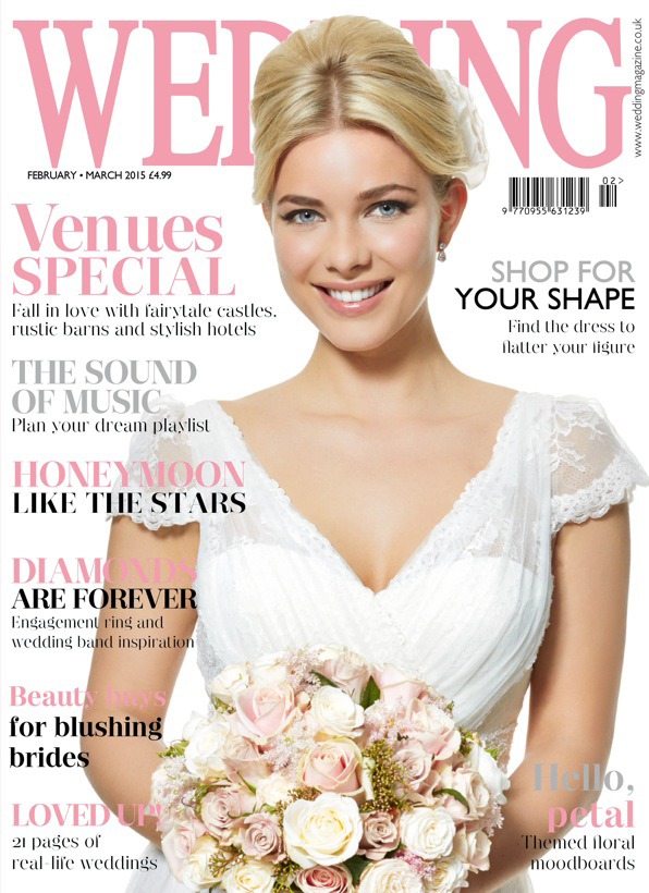 Passion for Flowers featured in Wedding Flowers Magazine Feb 2015