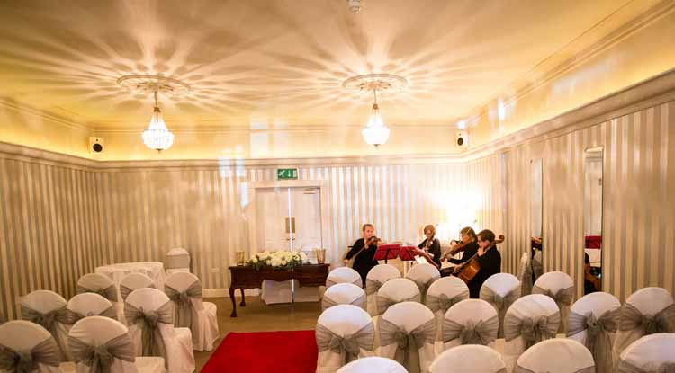 warwick house wedding ceremony flowers