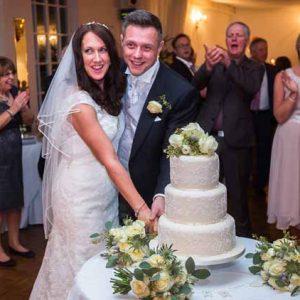 wedding cake flowers warwick house wedding