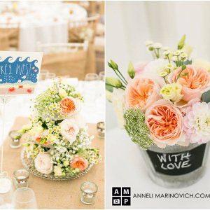 Iscoyd-Park-Wedding-Flowers-Peach-Roses