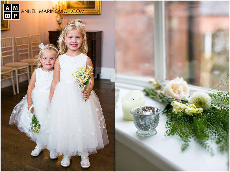 Iscoyd-Park-Wedding-Flowers-flower-girl-posy-daisy