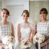 dusky pink roses bridesmaids bouquets
