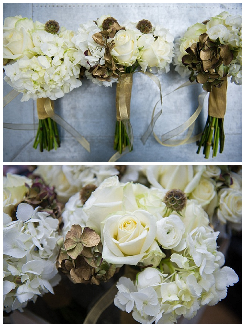 gold-and-white-bridesmaids-bouquets-wedding-flowers