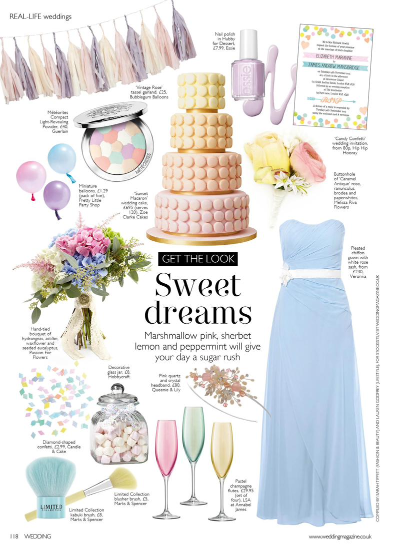 wedding magazine march april bouquet featured passion for flowers