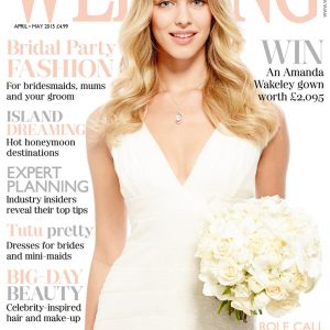 wedding magazine march april front cover