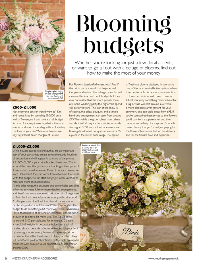 blooming budgets how much should i budget for wedding flowers 2