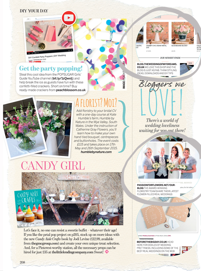 passion for flower perfect wedding magazine bloggers we love