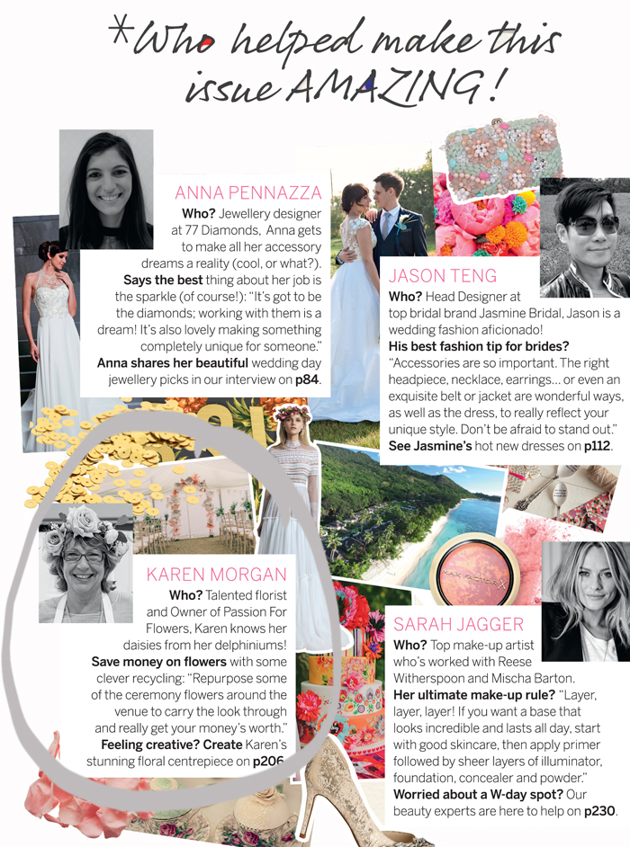 passion for flower perfect wedding magazine karen morgan contributor