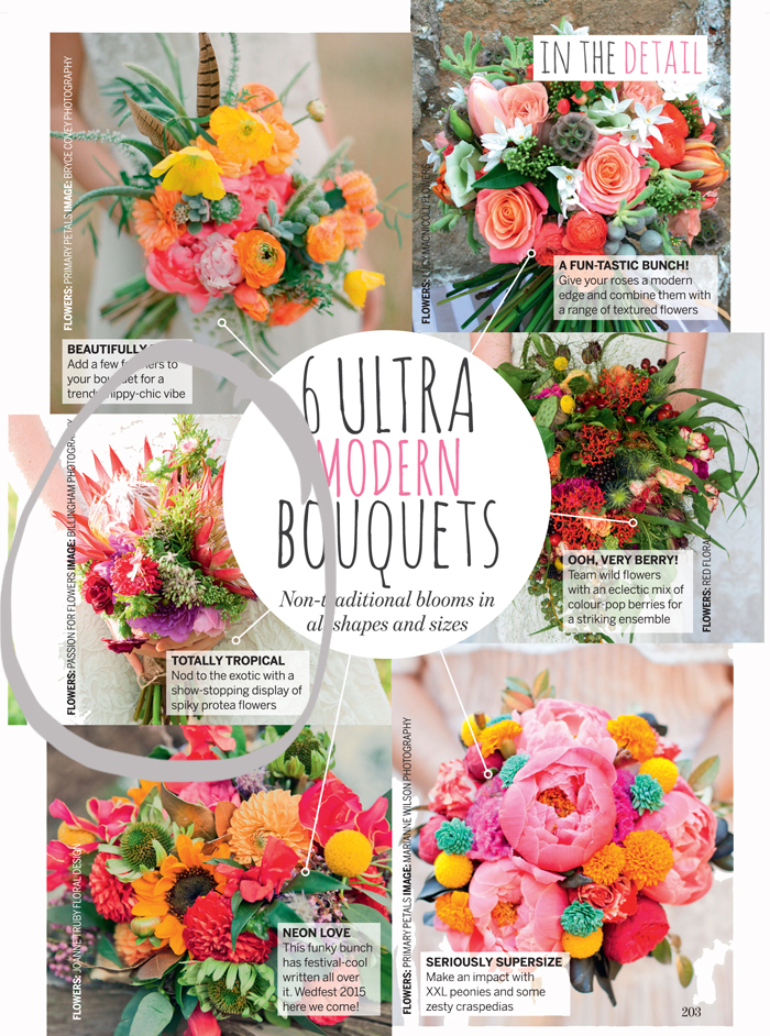 passion for flower perfect wedding magazine