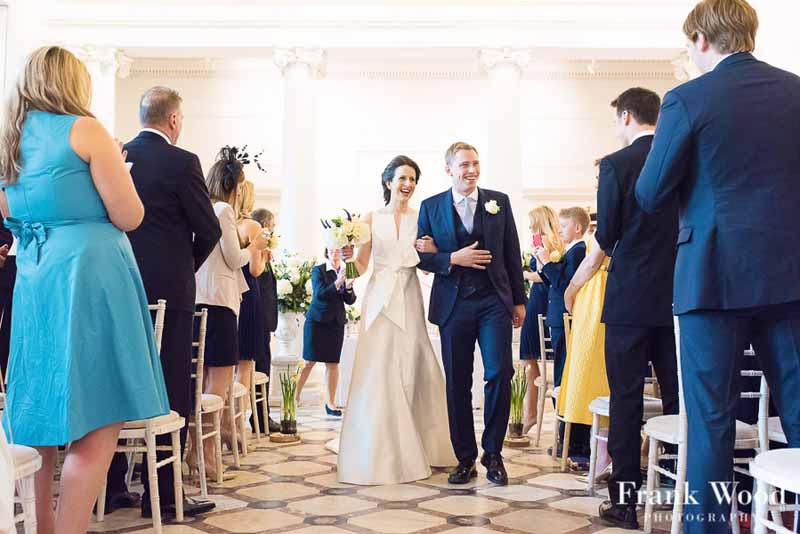 Compton Verney Spring Wedding Flowers Ceremony Room Passion for Flowers